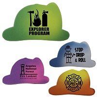 Fire Helmet Die Cut Mood Eraser