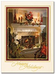 Warm Holiday Home - Christmas Cards