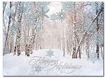 Winter Path - Christmas Cards