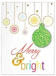 Merry Wishes - Plantable Christmas Cards