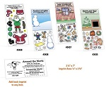Christmas Peel n Play Repositionable Sticker Sheets