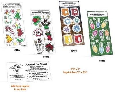 Holly-Jolly Christmas and Holiday Stickers