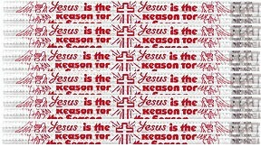 Jesus Is the Reason - Church and Christian Pencils