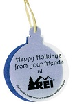 Full Color Christmas Ornaments with Seeded Paper