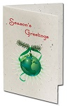 Full Color Christmas Cards with Seeded Paper