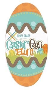 Custom Printed Full Color Easter Egg Emery Boards