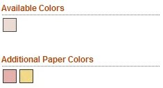 Available Gavel Emery Board Paper Colors