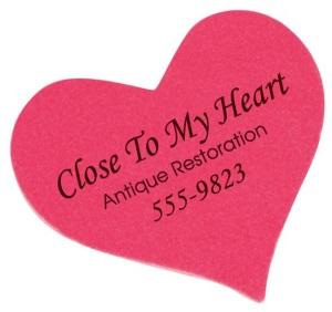 Heart Shape Emery Boards