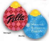 Ornament Shaped Personalized Emery Boards