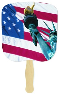 Liberty Patriotic Hand Fan