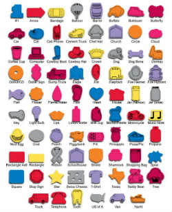 Available Shapes for Rubber Jar Openers