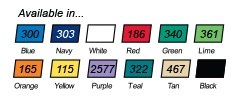Rubber Color Chart for Jar Openers