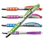 Promotional Customized Pens - Silver Jubilee Stylus Pen