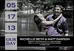 Custom Magnets - Save The Date Wedding Magnets