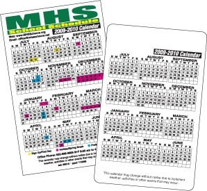 At A Glance School Calendars