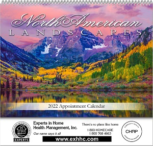 Landscapes of North America 2018 Calendar