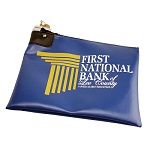 Custom Printed Vinyl Lock Deposit Bag
