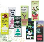 Full Color Personalized Plant-A-Shape Seeded Paper Bookmarks
