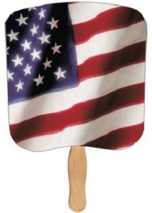 Heavy Duty Flag Fan
