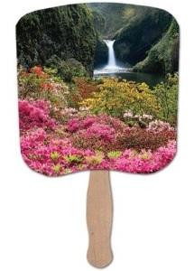 Flower Garden HD Fan
