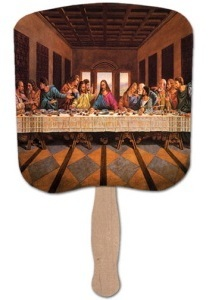 Heavy-Duty Church Fan - Last Supper Scene