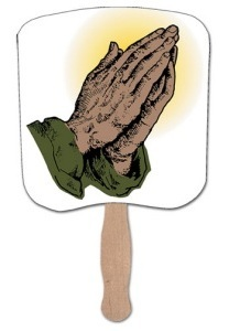 Praying Hands Heavy Duty Fan