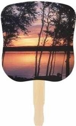 Sunset Hand Fan