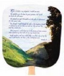 23rd Psalm Hand Fan