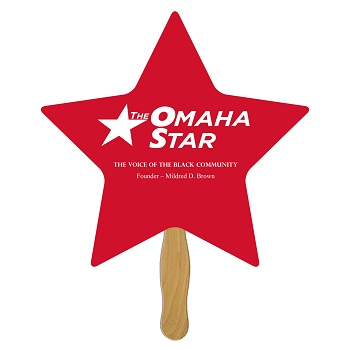 Star Shaped Hand Fan