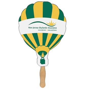 Balloon Sandwich Hand Fan