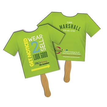 T-Shirt Sandwich Hand Fan