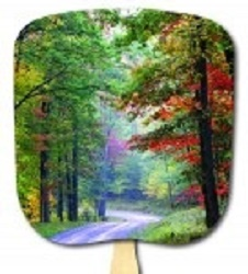 Scenic Trail Hand Fan