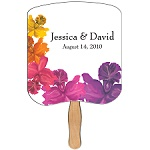 Wedding Hand Fans - Many Styles and Shapes to choose from