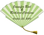 Wedding Hand Fans - Tassel Wedding Fan - Many Styles and Shapes available