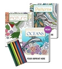 Adult Coloring Book Gift Pack
