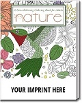 Imprinted Adult Coloring Books - Nature Theme