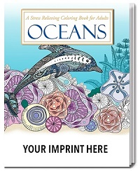 Ocean Themed Adult Coloring Book