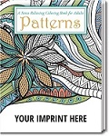 Imprinted Adult Coloring Books - Patterns Theme