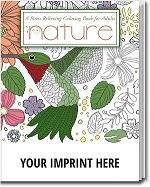 Nature Adult Coloring Books feature beautiful  	  art with nature themed designs.