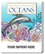 Adult Coloring Book with Ocean Themes