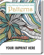 Adult Coloring Book with Pattern Themes