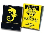 20 Strike Black and Yellow Matchbooks