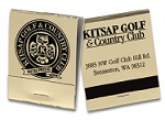 20 Strike Gold Foil and Black Matchbooks