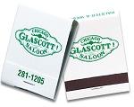 20 Strike Stock Color Imprint on White Matchbooks