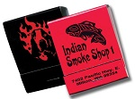 20 Strike Red & Black Matchbooks