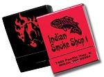 20 Strike Red & Black Matchbooks