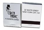 20 Strike Silver Foil and Black Matchbooks