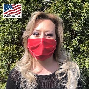 Microfiber Face Mask - Front