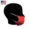 Microfiber Face Mask - Display Side