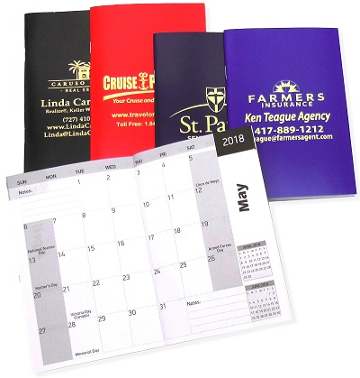Promotional Decisive Monthly Pocket Planners